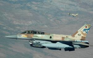 "An (hint-hint, wink-wink) ""Israeli"" F16"