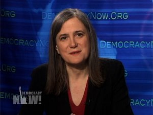 Amy Goodman, a shaft of dour gloom on alternative media