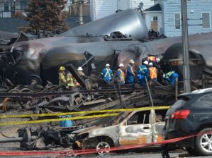 Quebec rail disaster was both timely and convenient