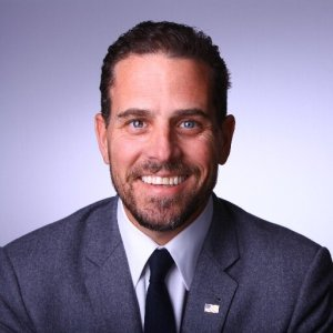 Hunter Biden (Has Dad's disingenuous car salesman smile)