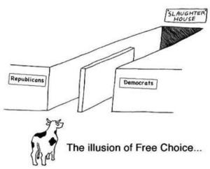 The Illusion of Free Choice democrats republicans