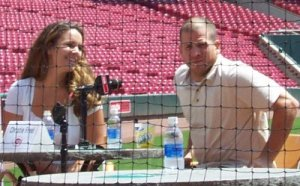 Ryan Freel and wife Christie