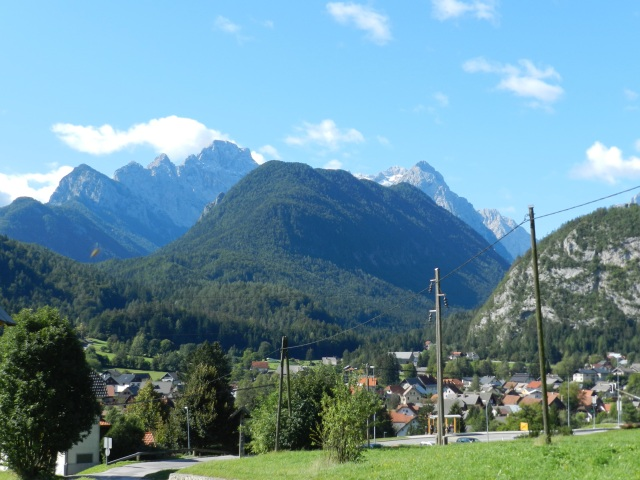 Peaks in the Julian Alps, Italy