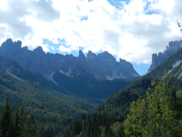 back in the Dolomites, Italy