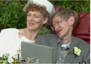 Real Hawking faked with new wife