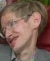 Hawking with distorted head