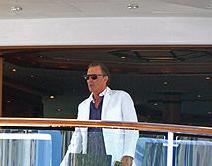 Washington in yacht