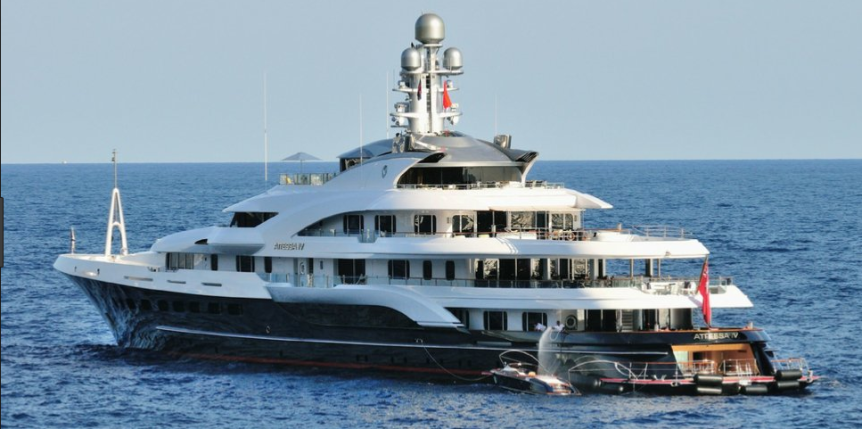 Dennis Washington Yacht
