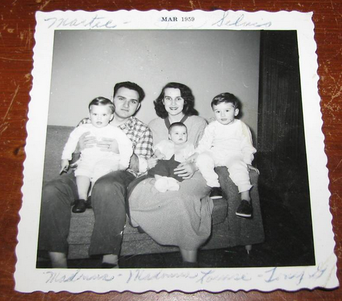 3 child family