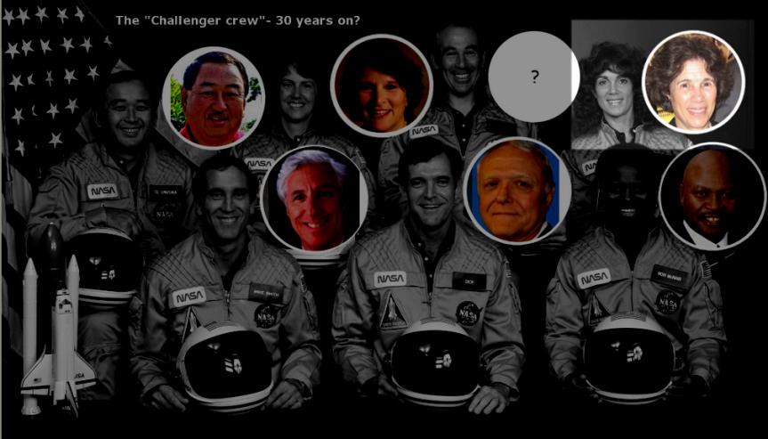 CF Challenger 7 Crew