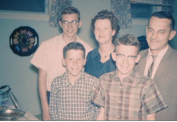 Family minus Tom 1960