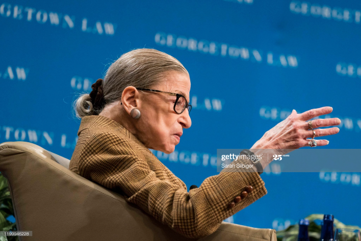 Did Ruth Bader Ginsburg Actually Die Months Ago? Rbg6