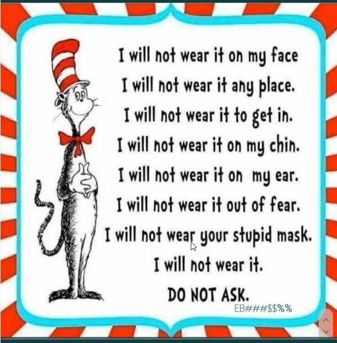 I will not wear