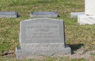Bowman Headstone